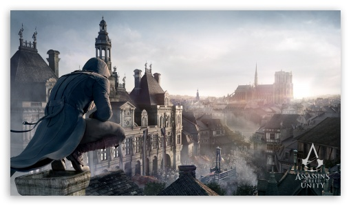 Assassin S Creed Unity Ultra Hd Desktop Background Wallpaper For