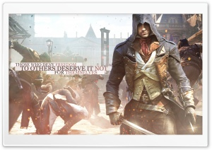 Assassins Creed Unity - Freedom HD Wide Wallpaper for Widescreen