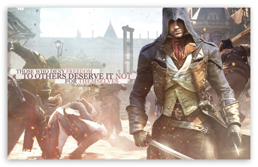 Assassins Creed Unity Freedom Ultra Hd Desktop Background