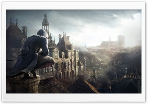 Assassins Creed Unity Arno HD Wide Wallpaper for 4K UHD Widescreen desktop & smartphone