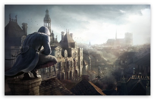 Download Assassins Creed Unity Arno UltraHD Wallpaper