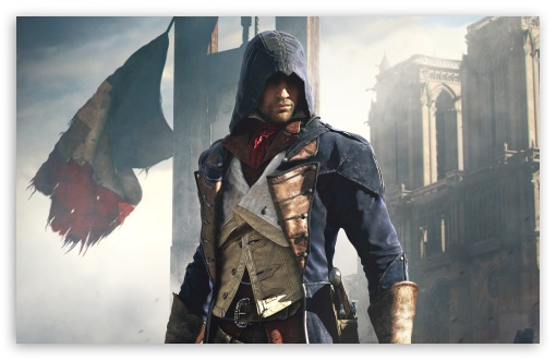 Assassin's Creed Unity French Revolution 4K HD Desktop