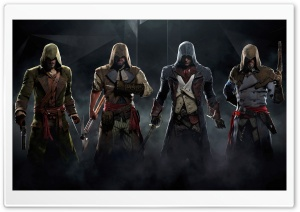 Assassins Creed Unity High Resolution Background HD Wide Wallpaper for Widescreen