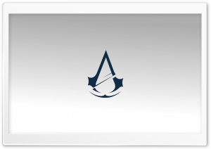 Assassins Creed Unity Logo High Resolution HD Wide Wallpaper for Widescreen