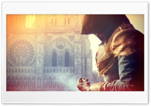 Assassin's Creed Unity Video Game 2014 HD Wide Wallpaper for 4K UHD Widescreen desktop & smartphone