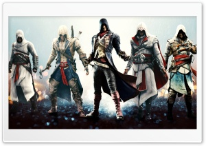 Assassins Unity HD Wide Wallpaper for Widescreen