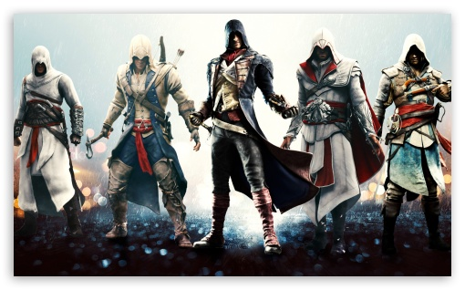 Assassins Unity Ultra Hd Desktop Background Wallpaper For 4k Uhd