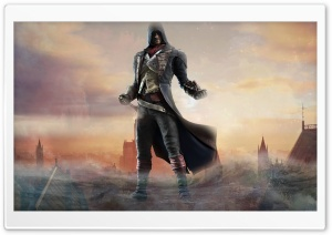 Assassins Unity. HD Wide Wallpaper for Widescreen