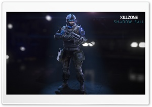 Assault Class - Killzone Shadow Fall HD Wide Wallpaper for Widescreen