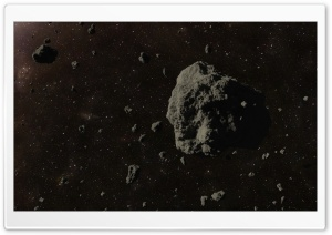 Asteroids HD Wide Wallpaper for Widescreen