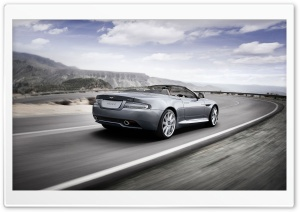 Aston Martin Cabrio HD Wide Wallpaper for Widescreen