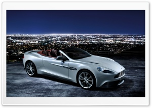Aston Martin Convertible 2013 HD Wide Wallpaper for Widescreen