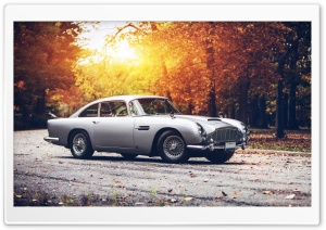 Aston Martin DB-5 HD Wide Wallpaper for Widescreen
