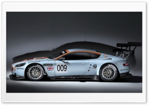 Aston Martin DBR9 Side View HD Wide Wallpaper for Widescreen
