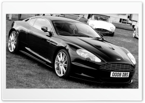Aston Martin DBS Black HD Wide Wallpaper for Widescreen