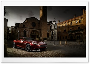 Aston Martin M310 Vanquish HD Wide Wallpaper for Widescreen
