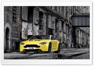 Aston Martin V12 Vantage S HD Wide Wallpaper for 4K UHD Widescreen desktop & smartphone