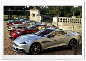 Aston Martin Vanquis Five Cars HD Wide Wallpaper for 4K UHD Widescreen desktop & smartphone