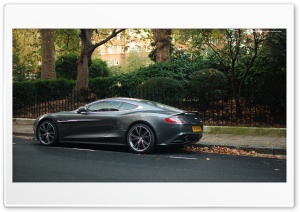 Aston Martin Vanquish HD Wide Wallpaper for Widescreen