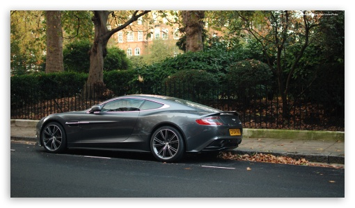 Download Aston Martin Vanquish HD Wallpaper