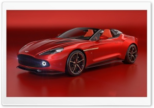 Aston Martin Vanquish Zagato Speedster 2017 HD Wide Wallpaper for 4K UHD Widescreen desktop & smartphone