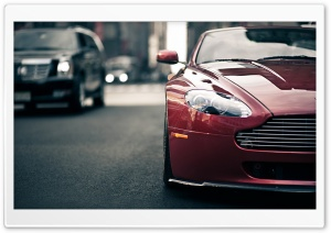Aston Martin Vantage HD Wide Wallpaper for Widescreen