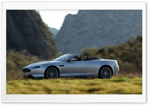 Aston Martin Virage Volante (2011 model) HD Wide Wallpaper for Widescreen