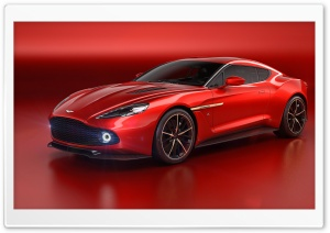 Aston Martin Zagato Vanquish 2016 HD Wide Wallpaper for 4K UHD Widescreen desktop & smartphone