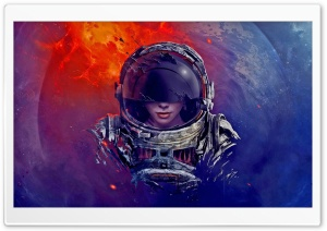 Astronaut, Artwork HD Wide Wallpaper for 4K UHD Widescreen desktop & smartphone