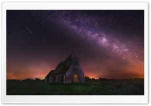 Astrophotography Milky Way Landscape HD Wide Wallpaper for 4K UHD Widescreen desktop & smartphone