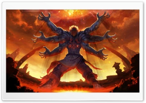 Asura's Wrath 2012 HD Wide Wallpaper for Widescreen