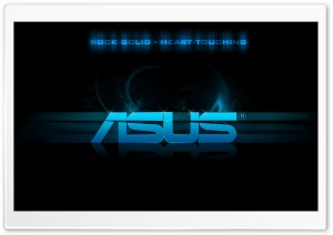 Asus HD Wide Wallpaper for Widescreen