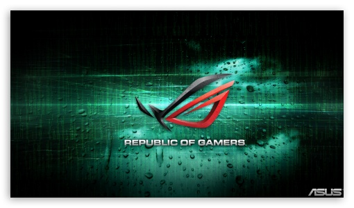 Asus Republic Of Gamers Ultra Hd Desktop Background