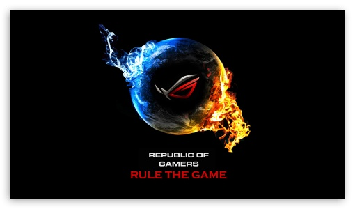 Asus republic of gamers 4k hd desktop wallpaper for 4k ultra hd tv - 32 inch wallpaper tv ...