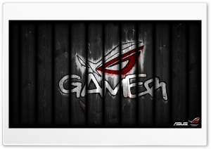 Asus Republic Of Gamers - Graffiti HD Wide Wallpaper for Widescreen