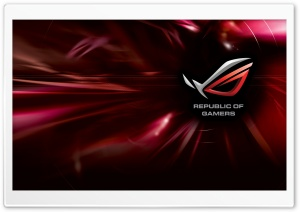 Asus Rog HD Wide Wallpaper for Widescreen