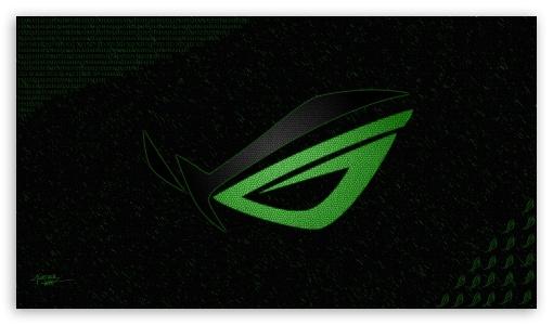 Asus Green Wallpaper: Asus ROG Eye 4K HD Desktop Wallpaper For 4K Ultra HD TV