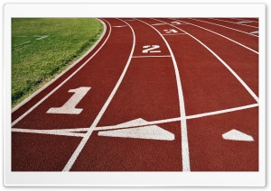 Athletics Track HD Wide Wallpaper for Widescreen