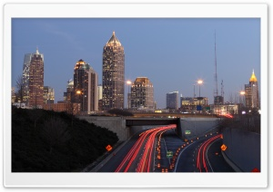 Atlanta City HD Wide Wallpaper for 4K UHD Widescreen desktop & smartphone