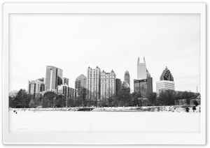 Atlanta Snowpocalypse 2014 HD Wide Wallpaper for Widescreen