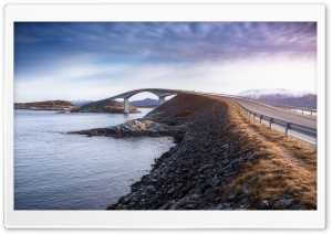 Atlantic Ocean Road HD Wide Wallpaper for 4K UHD Widescreen desktop & smartphone