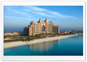 Atlantis Hotel Dubai HD Wide Wallpaper for 4K UHD Widescreen desktop & smartphone