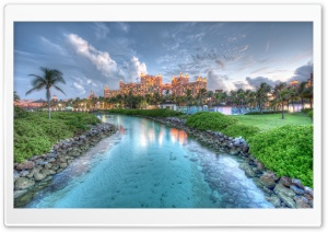 Atlantis Paradise Island Ultra HD Wallpaper for 4K UHD Widescreen desktop, tablet & smartphone