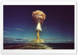Atomic Bomb HD Wide Wallpaper for Widescreen