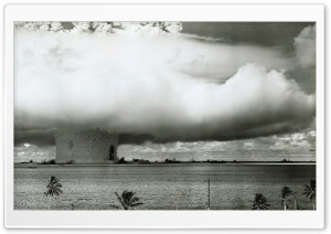 Atomic Bomb Test HD Wide Wallpaper for Widescreen