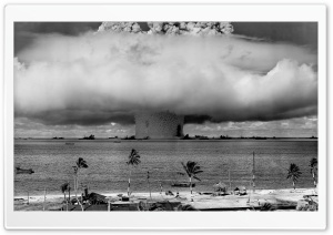 Atomic Explosion HD Wide Wallpaper for Widescreen