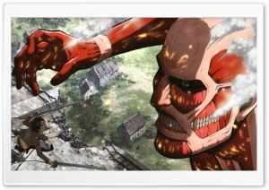 Attack On Titan HD Wide Wallpaper for 4K UHD Widescreen desktop & smartphone