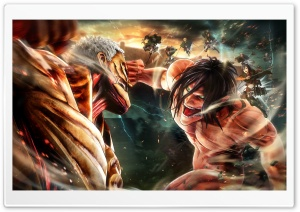 AttackOnTitan Ultra HD Wallpaper for 4K UHD Widescreen desktop, tablet & smartphone