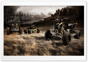 ATVs HD Wide Wallpaper for Widescreen