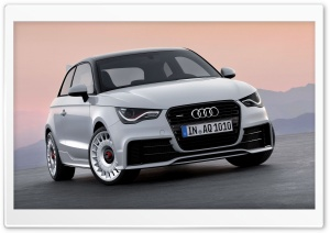 Audi A1 HD Wide Wallpaper for 4K UHD Widescreen desktop & smartphone